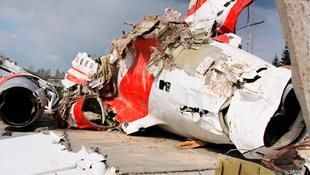 Filmre viszik a repülőbalesetet
