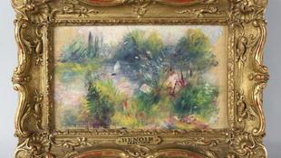 Renoir-festmény a bolhapiacról