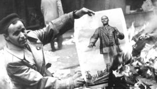 A forradalom egy holland fotós szemével
