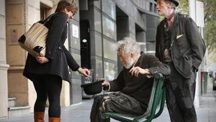 Hajléktalannak nézték a Gandalfot játszó színészt