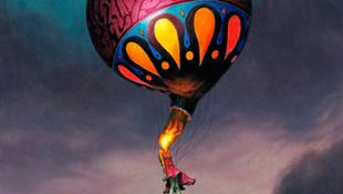 Lángolt a hőlégballon a viharban