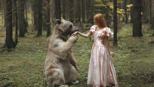 Természetes harmónia szürreális fotókon