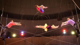 Látványos orosz műsor a cirkuszfesztiválon
