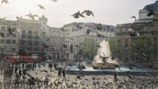 Köztéri szoborrá vált egy brit háziasszony - milliók nézik
