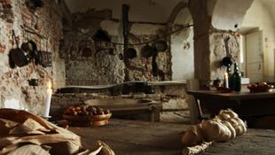 Kukkantson be a barokk kastély konyhájába