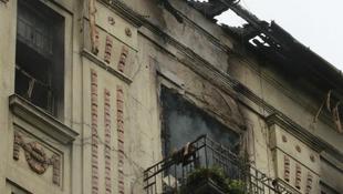 Tűz pusztított a művésznő lakásában