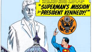 Superman és Kennedy képregénykalandja