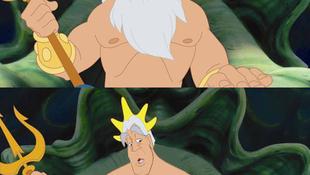 Szakálluktól megfosztott Disney hősök