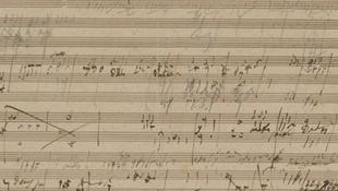 Elárverezik Beethoven kéziratát
