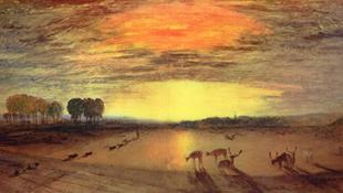Turner-festményeket fedeztek fel egy Múzeum raktárában
