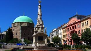 Utcára vonultak a diákok Pécsen