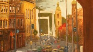 Rejtélyes baleset a Kossuth Lajos utcában