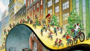 A bringások hétfőn is rajzanak Budapesten