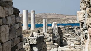 Víz alatti városra bukkantak Délosz szigete mellett