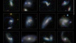 Szomszédjaikat falják a galaxisok
