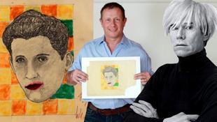 Warhol-rajz rejtőzött a kacatok közt