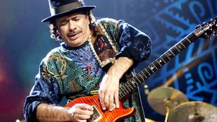 A rasszizmus ellen kampányol Santana