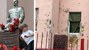 Terroristák robbantották  fel a Sztálin szobrot?