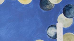 Skandalum: kékre festették a mennyezetet a múzeumban
