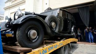 Különleges autó a múzeumban