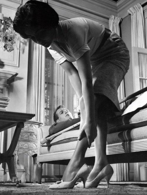 Liz és Paul Newman - Macska a forró bádogtetőn (1958)