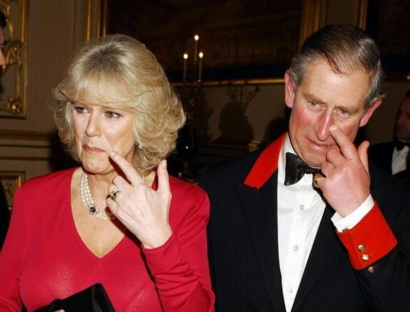 Károly brit trónörökös és felesége