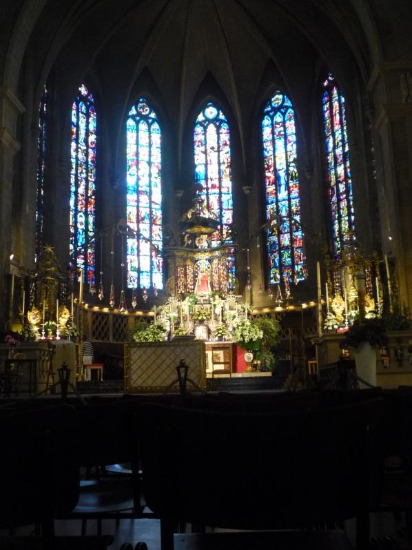 A luxemburgi Notre-Dame oltára