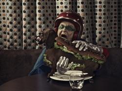 Mamika és a hot dog