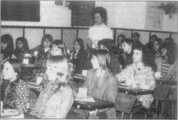 A kórus a '60-as években