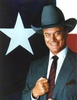 Larry Hagman alias Jockey Ewing