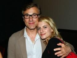 Christoph Waltz (Hans Landa ezredes) és Mélanie Laurent (Shosanna Dreyfus)