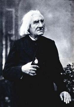Liszt Ferenc idős korában