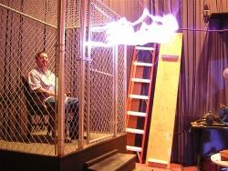 Faraday ketrec működés közben
