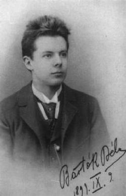 A fiatal Bartók