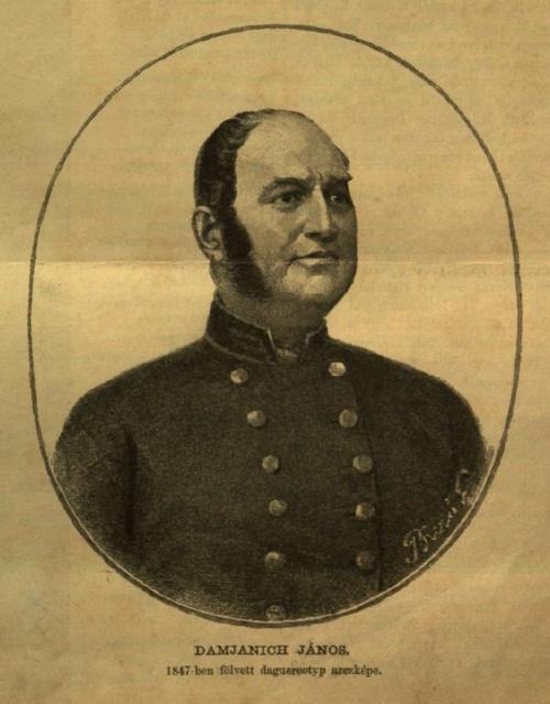 Képünk 1847-ben készült dagerrotípia, Damjanich Jánost ábrázolja. (Köszönet a Budun Archívumnak a felvételért)