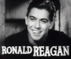 """Ronald Reagan az 1938-as """"Cowboy from Brooklyn"""" című filmben"""