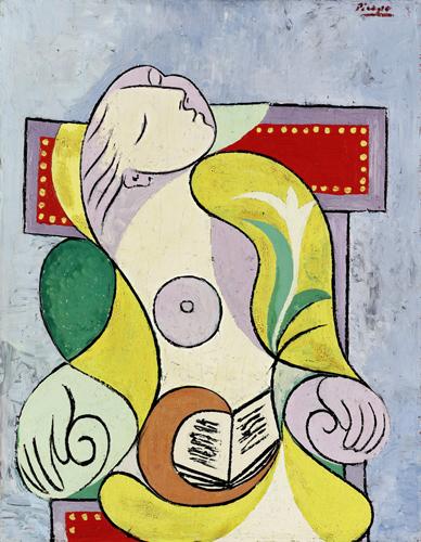 Pablo Picasso: Olvasó nő