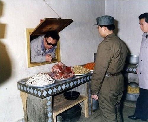 Hirtelen Kim Dzsong Il.
