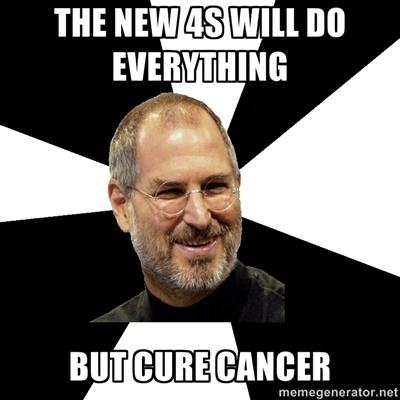 Az új 4S mindenre képes. Csak a rákot nem gyógyítja.