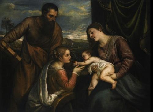 Tiziano: Sacra Conversazione