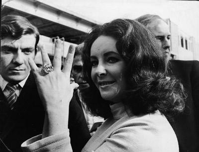 Liz Taylor és a Krupp-gyémánt