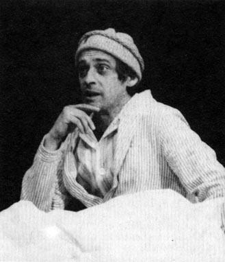 Jordán Tamás a Mester szerepében (Bulgakov: Mester és Margarita)