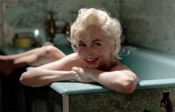 Michelle Williams az Egy hét Marilynnel című filmben