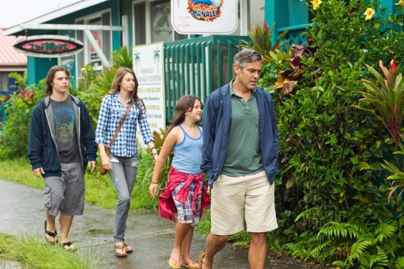 Utódok   George Clooney, Shailene Woodley, Amara Miller, Nick Krause