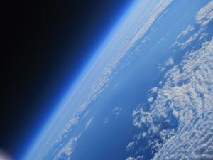 Mathew és Asad képe az űrből
