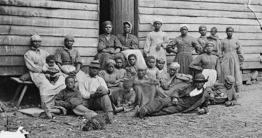 Szökött rabszolgák Virginiában (fotó: Amerikai Kongresszusi Könyvtár)