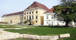 A Nemzeti Táncszínház épülete a várban