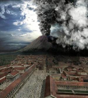 A földrengés már a kitörés előjele lehetett