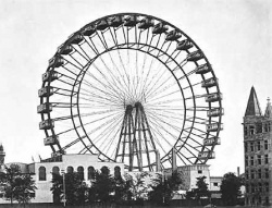 Az első óriáskerék Chicagóban, 1893-ban