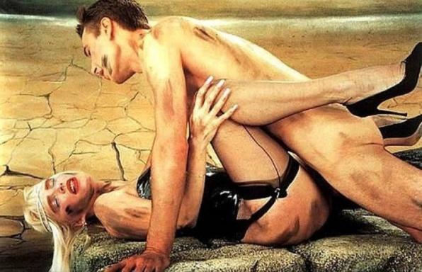 Jeff Koons: Dirty - Jeff On Top (műanyag szobor)